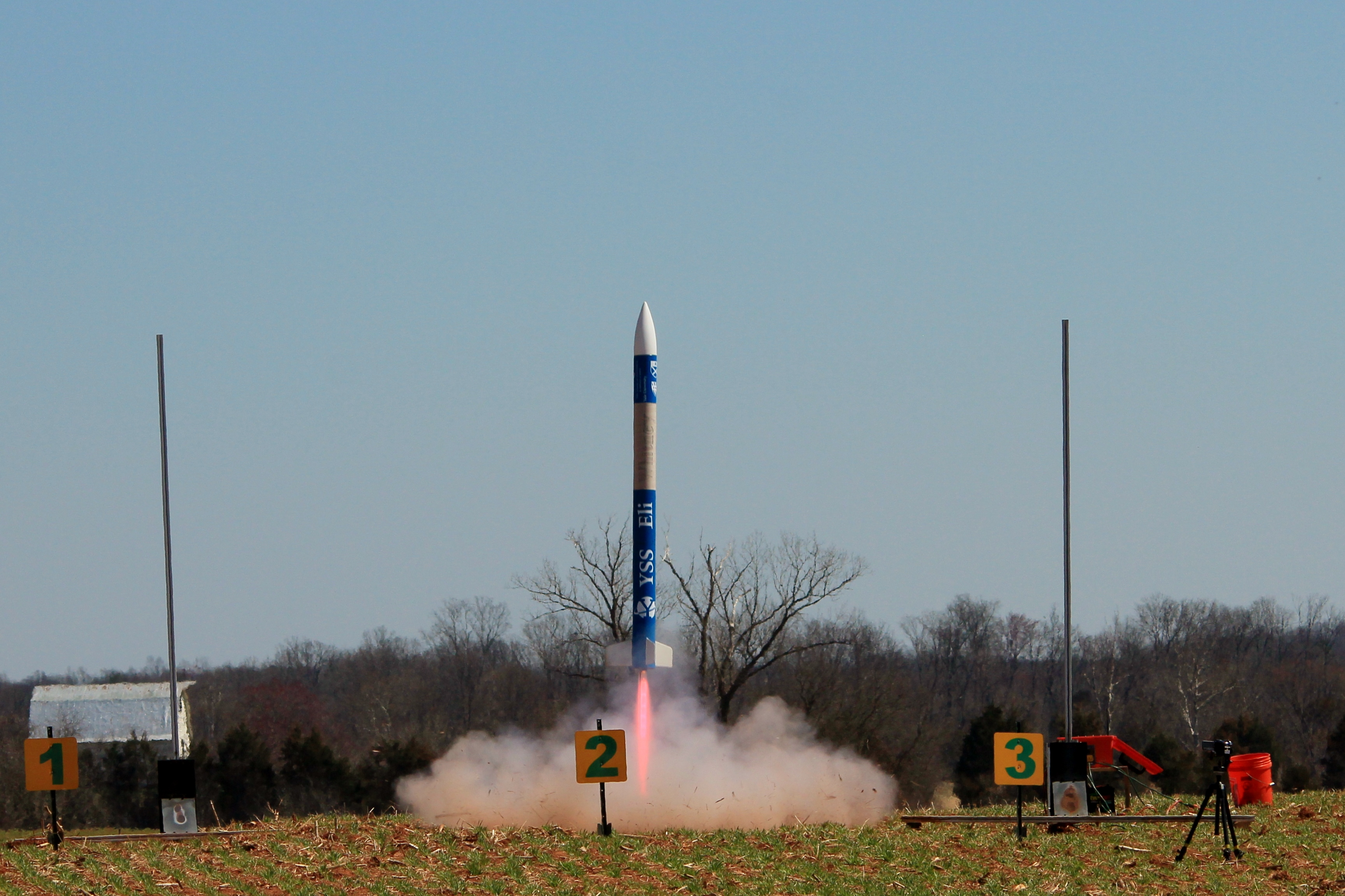 First competition launch of the YSS Eli Whitney
